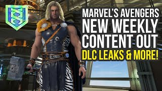 Marvel Avengers Game New Weekly Content, DLC Leaks & Way More (Marvel's Avengers DLC)