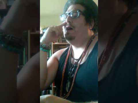 """Me reading """"all the way"""" poem by Charles bukowski"""