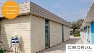 Cedral - Il rivestimento ideale per campeggi, stabilimenti e villaggi turistici