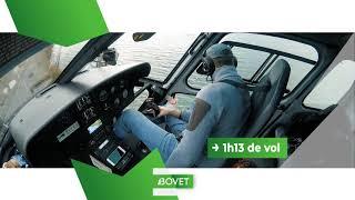Héliportage AS 350 B3 - Lac du Bourget
