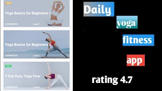 daily yoga and fitness app for android screenshot 4