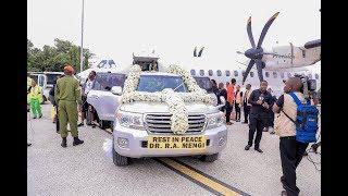 LIVE: Msafara wa Magari ukieleka nyumbani kwa Dkt Mengi Machame.