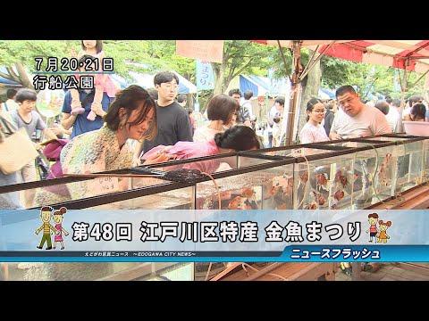 第48回 江戸川区特産 金魚まつり