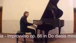 F. Chopin: Fantasia - Improvviso op. 66 in Do diesis minore - Pianoforte Michele Pentrella