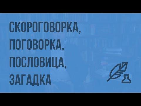 Русский язык/  Пословицы/ стили речи