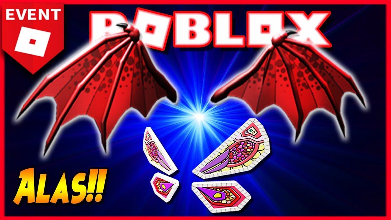 Alas De Dragon Roblox Evento Egg Hunt 2019 Roblox Premios Alas Gratis Youtube
