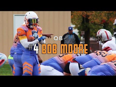 QB Bob Moore 2016 Football Highlights (York Generals)