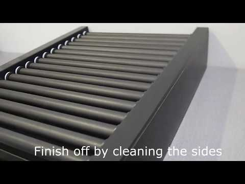 FKI Roller Grill Cleaning Instruction
