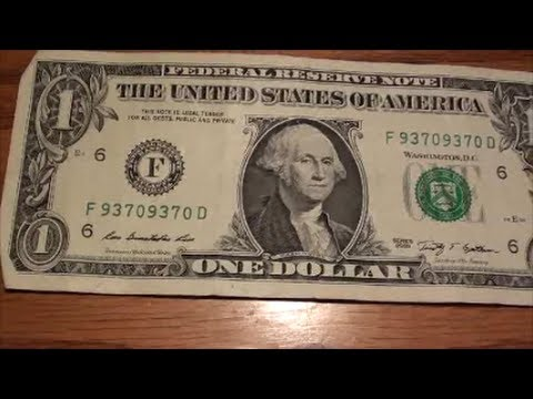 How About This Repeater Fancy Serial Number On A One Dollar Bill