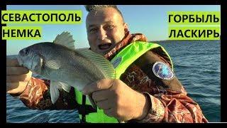 Рыбалка в Крыму. Горбыль, ласкирь. Севастополь, Немецкая балка (Орловка).
