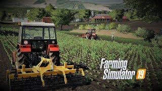 FarmingSimulator2019 Podwórkowe opowieści odc5 Naczelny co ty robisz ?? BEKA V30 Bronowanie Słomy