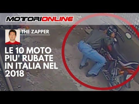 Le 10 MOTO Più RUBATE In ITALIA Nel 2018 | The Zapper