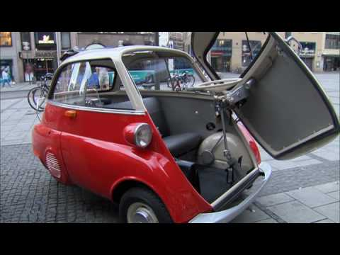 BMW Isetta image campaign by the BMW Museum