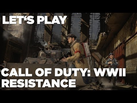 Hrej.cz Let's Play: Call of Duty: WWII - Resistance [CZ]