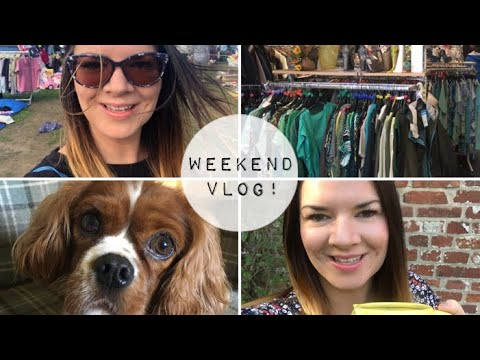 Weekend Vlog | Charity Shops | Testing Poundland Items | Declutter | Car Boot Sale