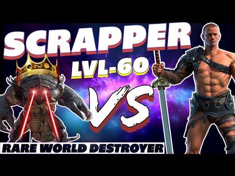 Scrapper NEW RARE! vs Scarab King! Raid Shadow Legends