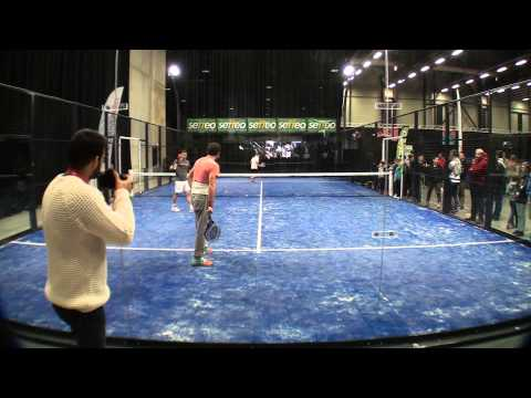 Exhibition padel Open Sud de France
