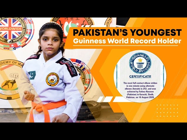 Pakistan's Youngest Guinness World Record Holder