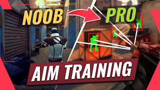 How To AIM Lİke The PROS In Valorant (Drills, Sensitivity, Tips & More)