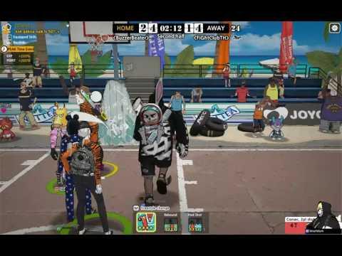 Crew League : MagicLiu Dash Team VS FIGHTCLUBTH PF-SG-PG : Freestyle2 Street BasketBall