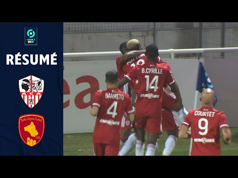 AC Ajaccio Rodez Goals And Highlights