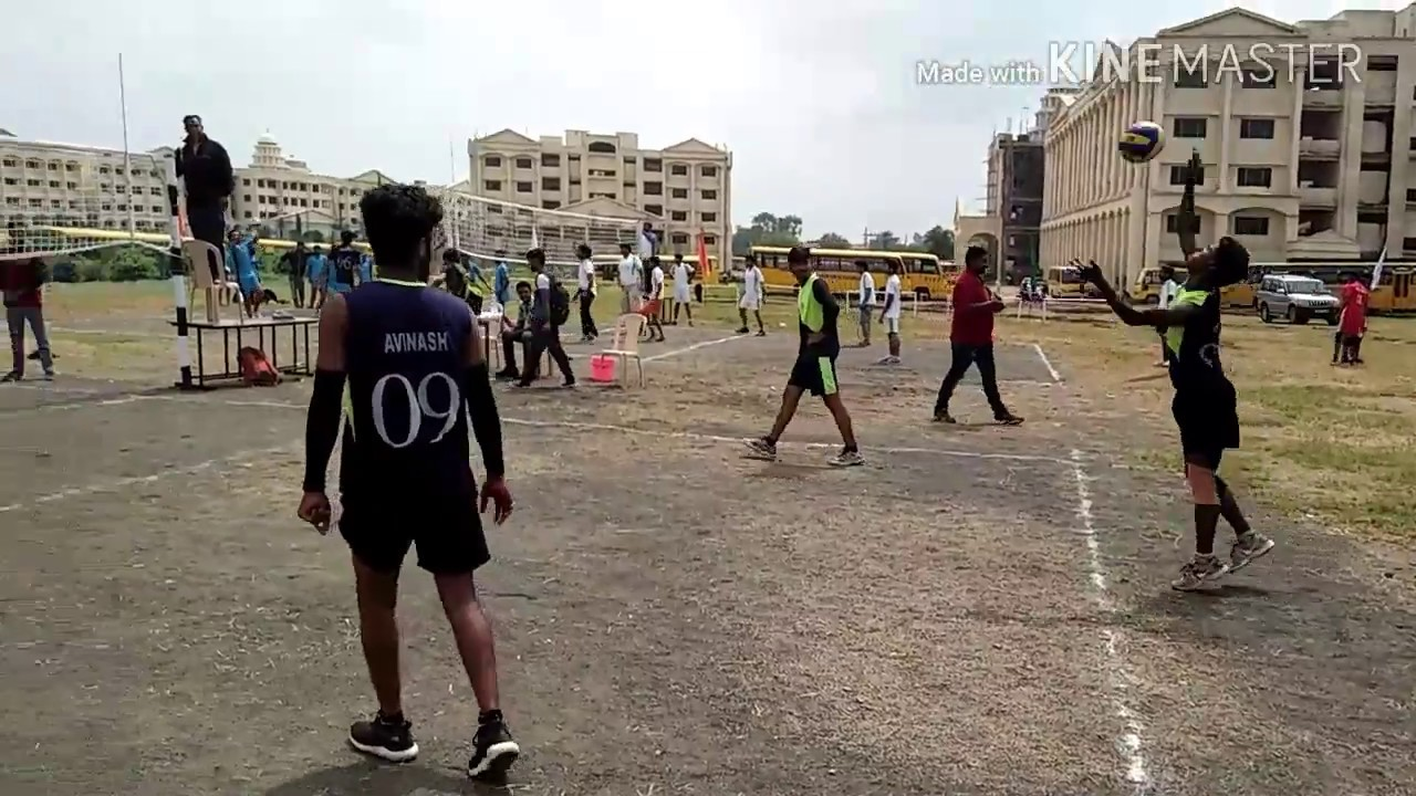 RGPV VOLLEYBALL TOURNAMENT 2017 | T i t Vs Sistec college | at T I T bhopal