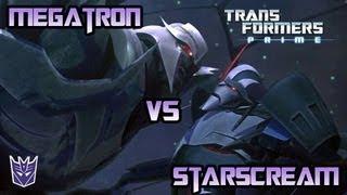 Transformers Prime: The Game - Megatron Vs. Starscream