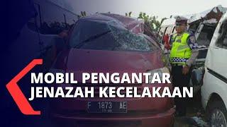 Mobil Rombongan Pengantar Jenazah Kecelakaan, 2 Orang Tewas