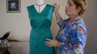 Conserto: como diminuir a medida de um vestido pronto por Marlene Mukai