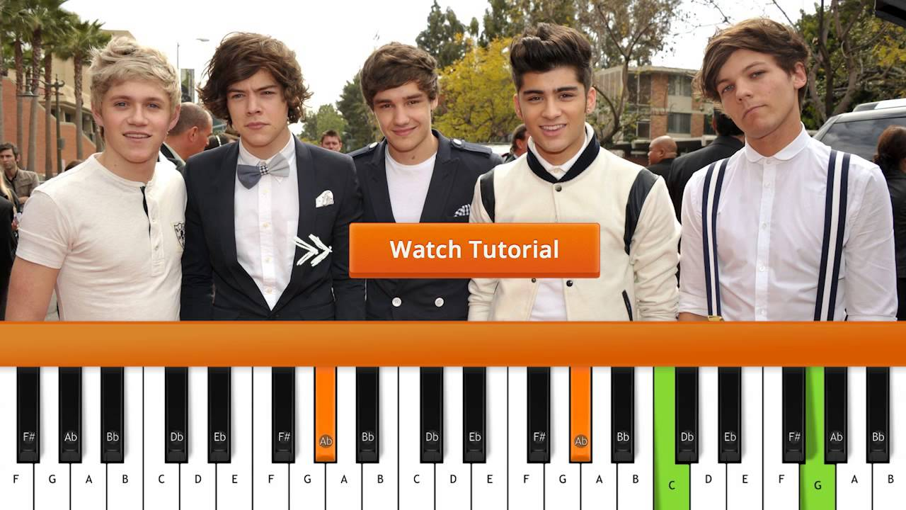 How to play story of my life one direction piano tutorial how to play story of my life one direction piano tutorial chords hexwebz Gallery