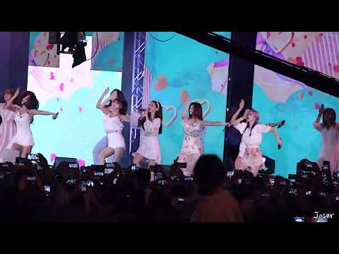 "181201 TWICE ""Heart Shaker"" Fancam Guam 괌 K-Pop Concert 트와이스 직캠 Lotte Duty Free"
