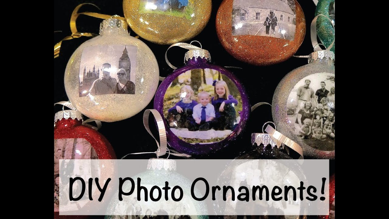 how to transfer pics to clear glass ornaments
