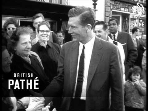 John Lindsay Becomes Mayor Of New York (1965) - YouTube