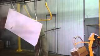 Полимерно порошковая покраска двери лаком(, 2015-07-22T13:10:56.000Z)