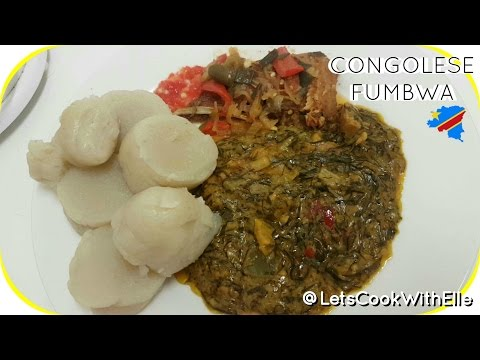 How to Cook Congolese Fumbwa - full instructions