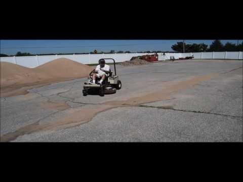Grasshopper 120 ZTR lawn mower for sale   no-reserve Internet auction June  15, 2016