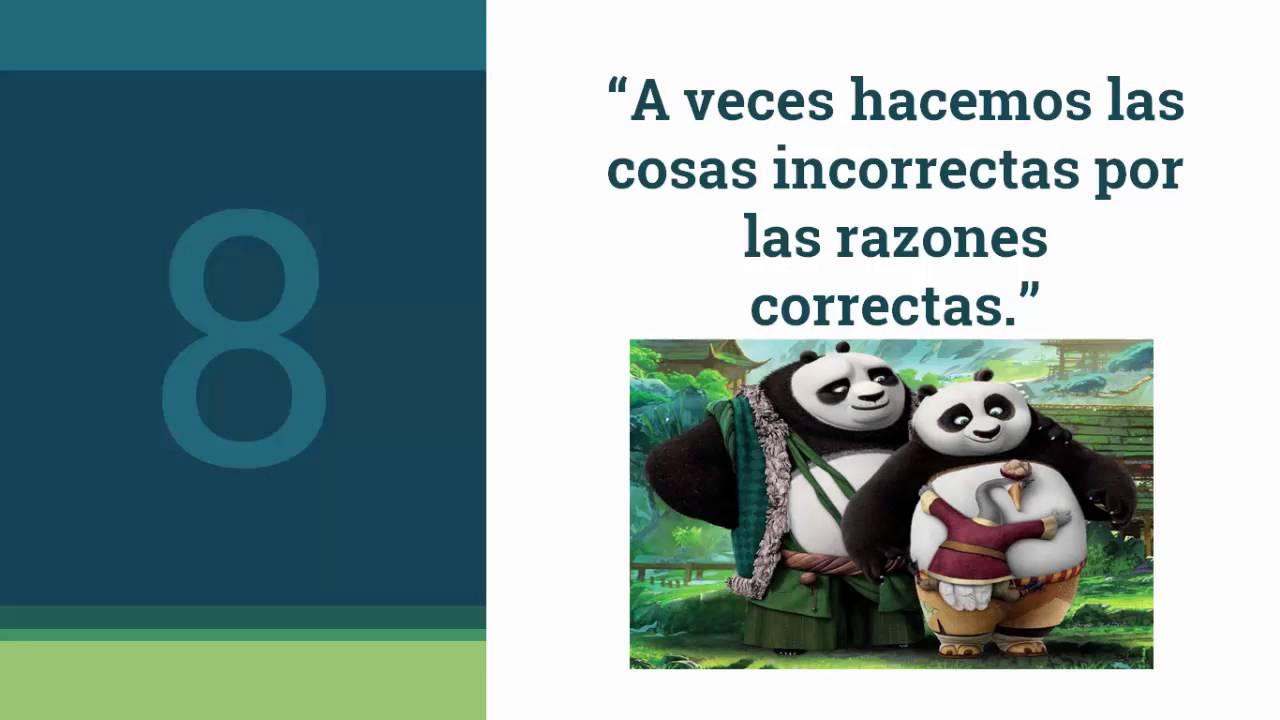 Frases Inspiracionales De Kung Fu Panda 3