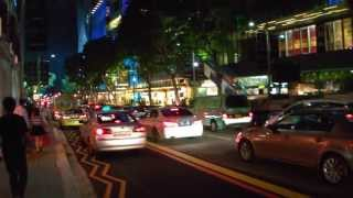 Singapore Entertainment & Shopping Area @ Orchard Road [Night Walk]