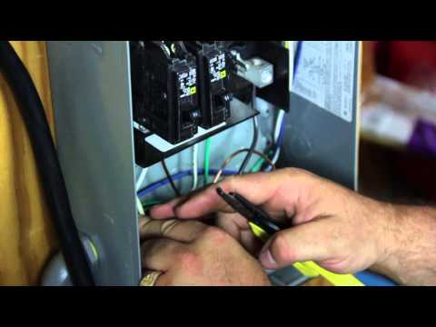 tiny house electrical hookup