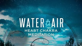 HEART Chakra Meditation - RAV Drum Shamanic Journey Calm Whale