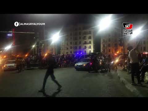 احتفالات في ميدان التحرير بعد فوز منتخب مصر في أول مباريات كأس الأمم الأفريقية  - 02:53-2019 / 6 / 22