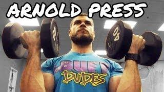 vuclip Arnold Press - Shoulder Exercise - Proper Form Tutorial