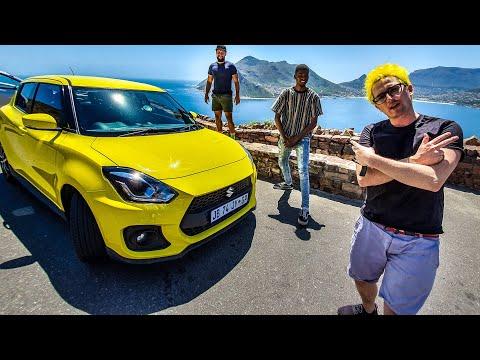 We're taking the Suzuki Swift Sport out around Cape Town...