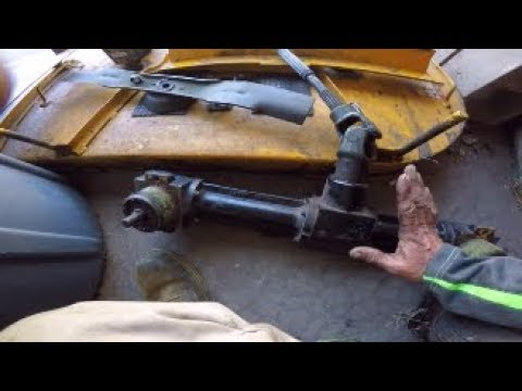 Walker Mower gear box switched out and small rant about facebook groups