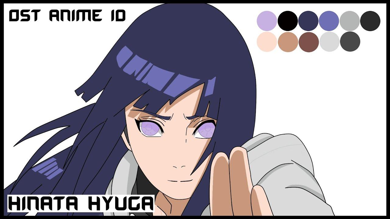 Menggambar Hinata Hyuga - Naruto (Anime Drawing) by OST ...