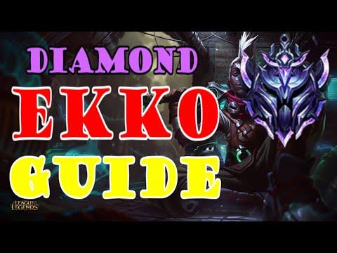 HOW TO BECOME A DIAMOND EKKO JUNGLER   urSleepy's guide to Ekko jungle Season 9