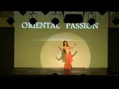 SUVI TUOMINEN (FINLAND) AMAZING BELLYDANCE PERFORMANCE IN 4TH ORIENTAL PASSION FESTIVAL