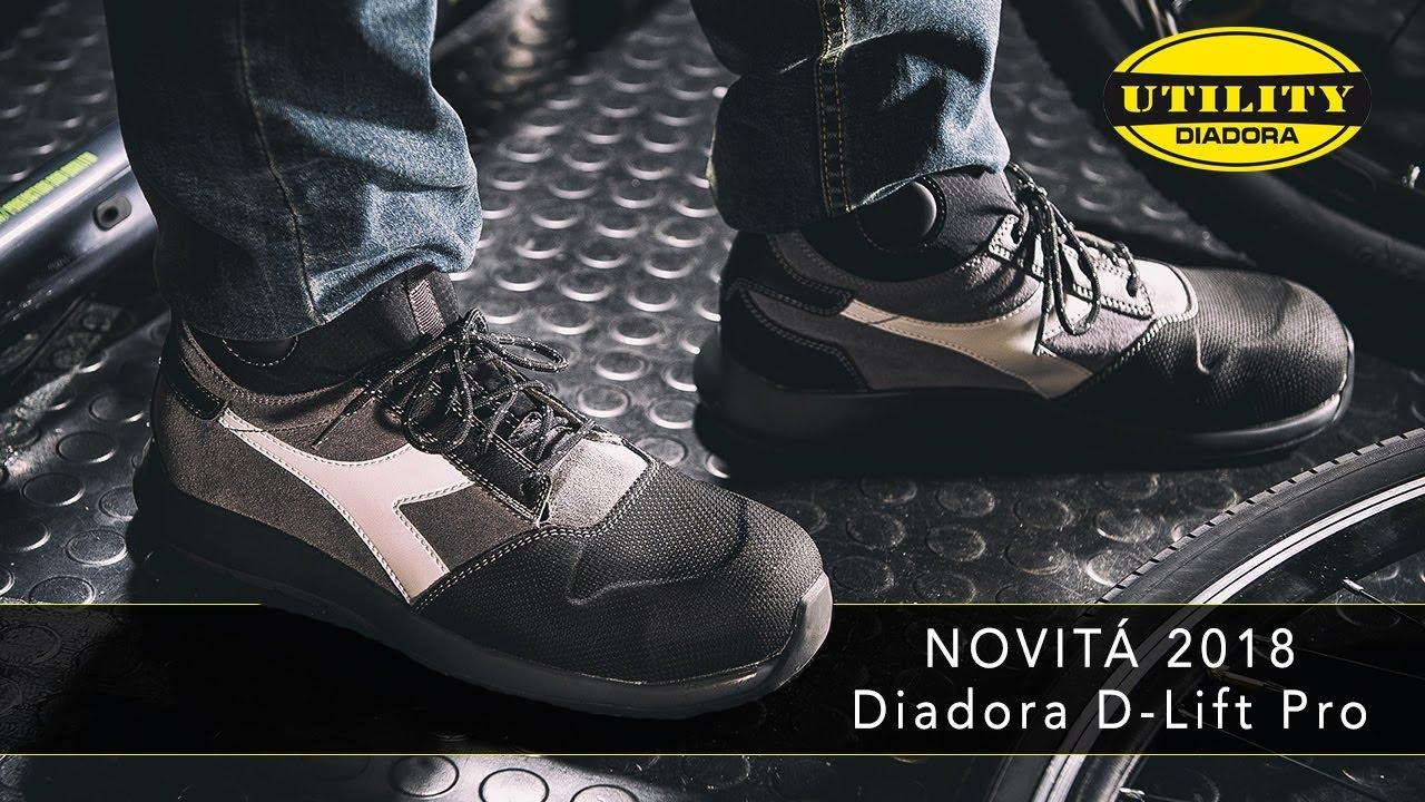 innovative design 35d1c 1857f Scarpa antinfortunistica D-Lift Pro Diadora Utility - Novità assoluta 2018
