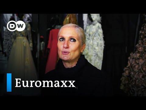 Haute Couture: Dior-Ausstellung in London | Euromaxx