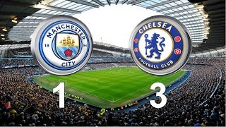 Manchester City vs Chelsea 1-3 All goals & Highlights (03 12 2016)
